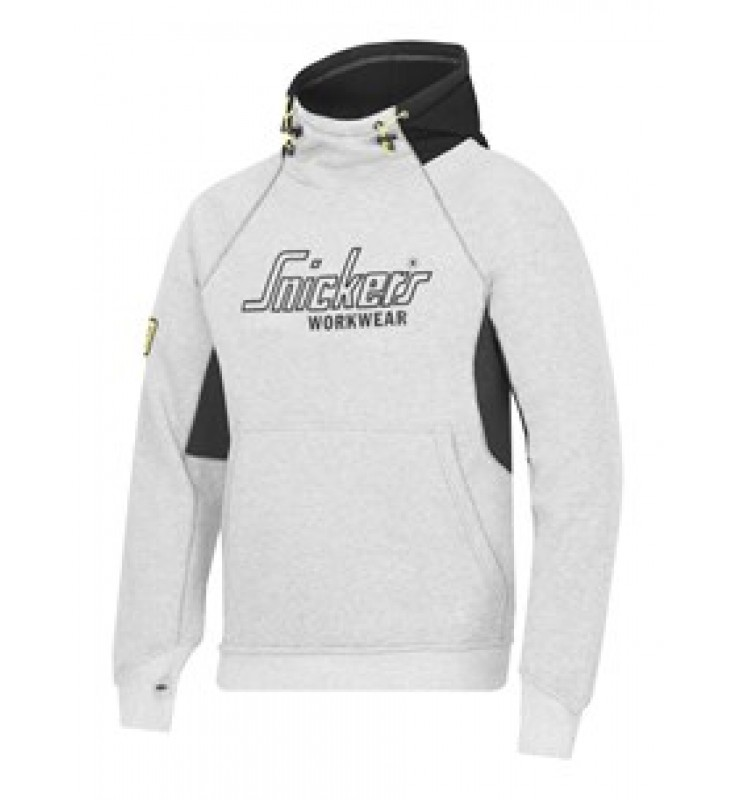 Snickers Sweatshirt Hoodie - Grey/Black