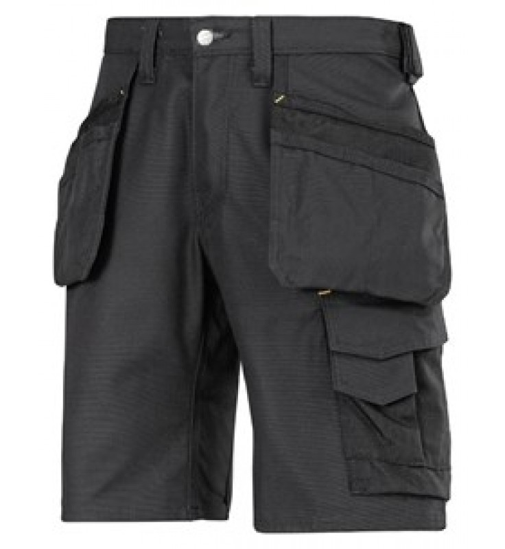 Snickers Canvas Shorts - Black