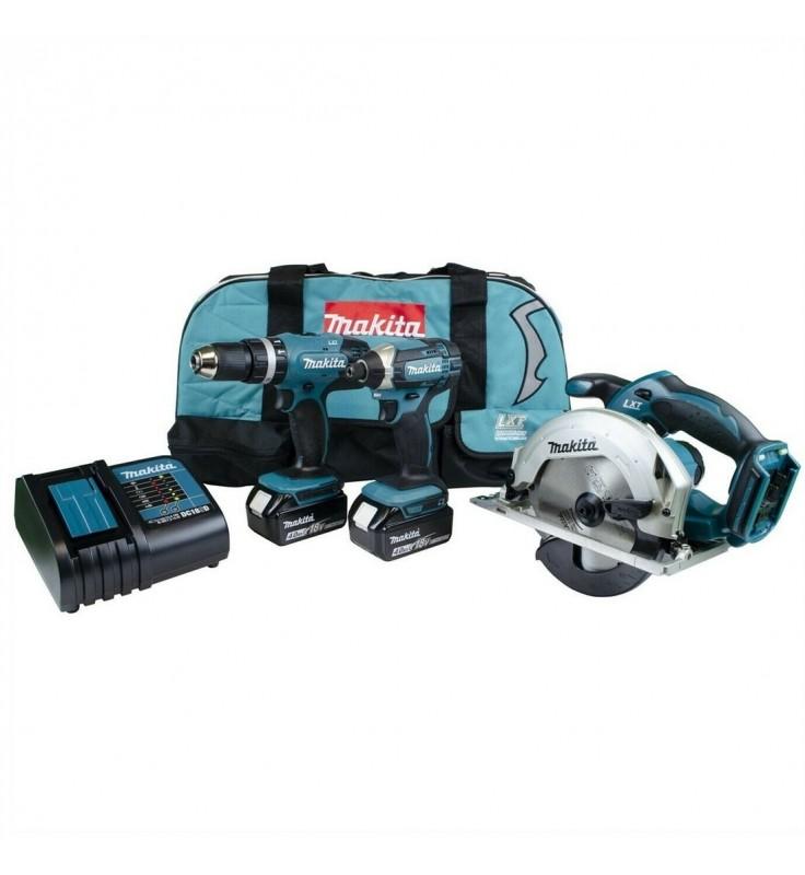 Makita DLX3018SMX 3 Piece 18v Cordless Kit