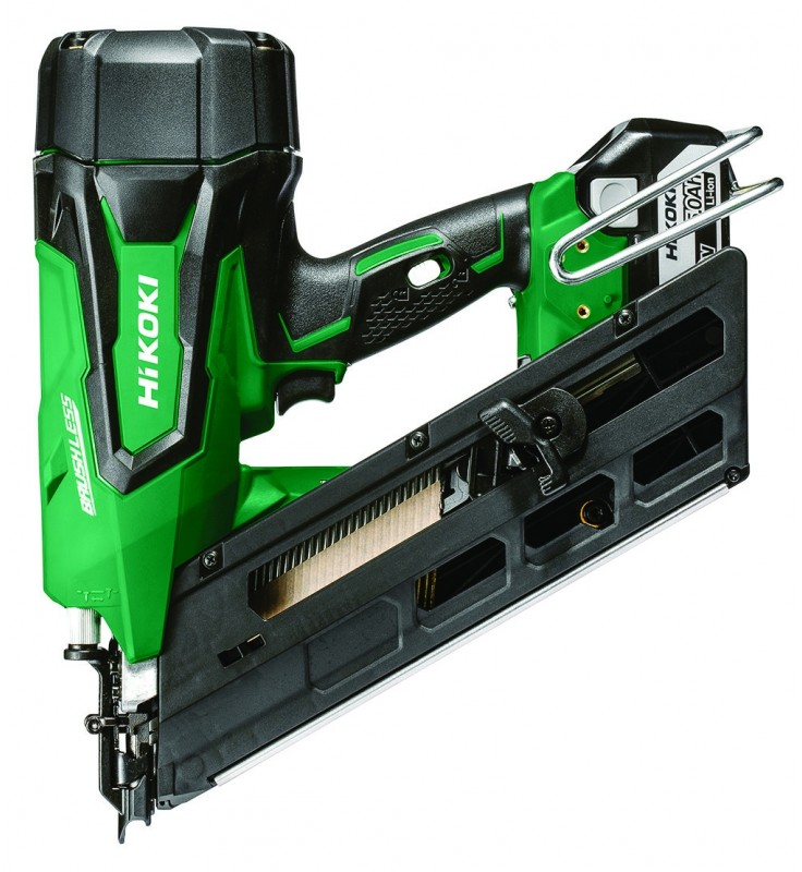 HiKoki NR1890DCJPZ 18v Brushless 90mm Framing Nailer 2x5.0ah