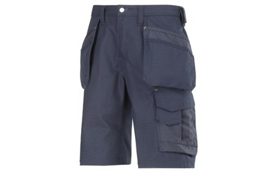 Snickers Canvas Shorts - Navy