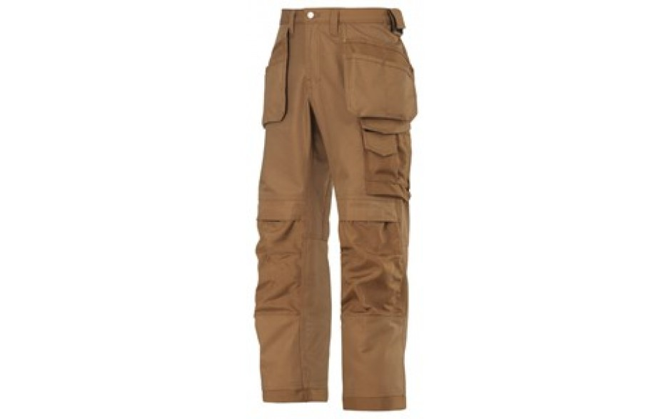 Snickers Canvas Trousers - Brown