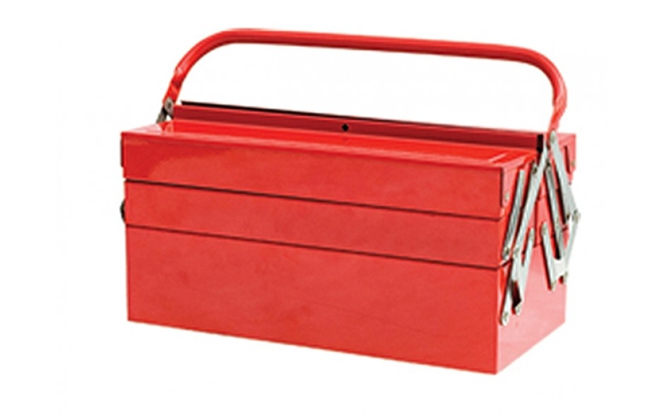 "Faithfull 5-Tray 19"" Metal Cantilever Tool Box"