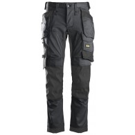 Snickers 6241 AllroundWork Stretch Trousers - Grey/Black