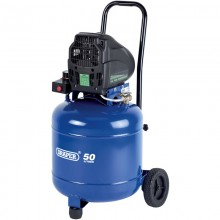 Draper 50l Vertical Oil-Free Compressor