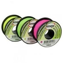 Imex 100m Braided Nylon Line - Pink