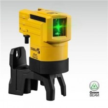 Stabila Green Beam Crossline Laser with Wolfcraft Mount