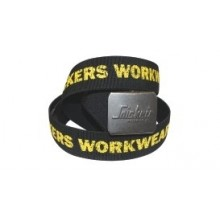 Snicker Logo Black Belt One Size