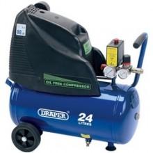 Draper 24l Air Compressor