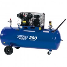 Draper Expert 200l 3HP 240v 10bar V-Twin Compressor