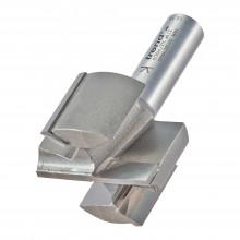 "Trend Pro Two flute cutter 41.3 mm diameter 1/2"" Shank"