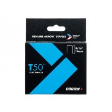 Arrow T50 Staples - Various Sizes