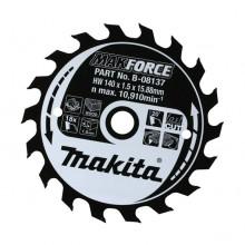 Makita Makforce Circular Saw Blade 235x30mm 18 Tooth