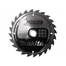 Makita TCT Saw Blades - Specialised for Cordless - 165x20mm