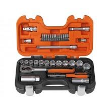 "Bahco 34 Piece 3/8"" Sq Drive Socket Set XMS1938SS"