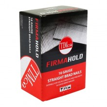 Firmahold 16 Gauge Straight Brads Stainless Steel 2000 QTY