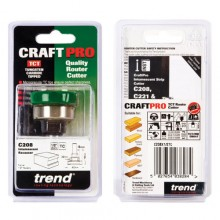 Trend CRAFTPRO Intumescent cutter set 10mm x 40mm