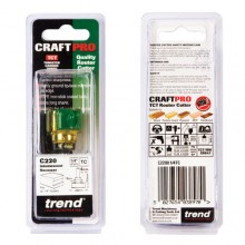 Trend CRAFTPRO Intumescent cutter set 15mm x 24mm