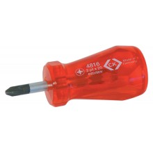 C.K. HD Classic Screwdrivers - Stubby Pozi