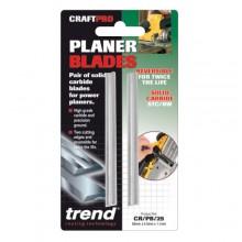Trend CRAFTPRO Craft Pro Planer blade set  82mm x 5.5mm x 1.