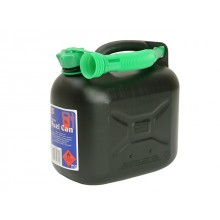 5Ltr Fuel Can Black