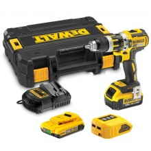 DeWalt 18v Brushless Combi Drill 1x4ah & 1x2ah Battery