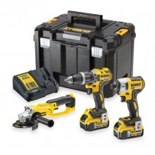 DeWalt DCK383P2T Brushless 18v Triple Pack in TStak Kit Box
