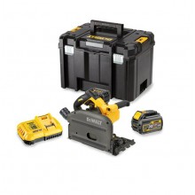 DeWalt Flexvolt 54v Plunge Saw Kit, 2x6ah & 2x Rails