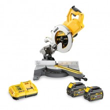 DeWalt 54v Flexvolt 250mm Cordless Mitre Saw - 2x Batteries