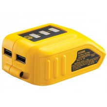 DeWalt USB Charging Adaptor for 10.8-18v Li-ion Batteries