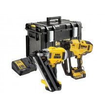 DeWalt 18v Nailer Twin Pack - 1st and 2nd Fix Nailers, 2x5ah