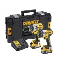 Dewalt 18v Heavy Duty Brushless Twin Pack 2 x 5ah