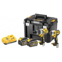 DeWalt DCK276T2T 18v Brushless Flexvolt Twin Pack - 2 x 6ah