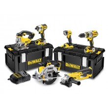 DeWalt DCK694P3 18v 6 Piece Kit - 3x5ah in Toughsytem Cases