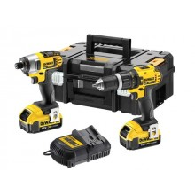 DeWalt DCZ285M2 18v Brushless Twin Pack 2 x 4ah Batteries