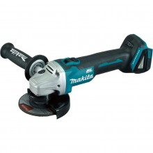Makita Brushless Grinder with 4x5ah Batteries & Dual Charger
