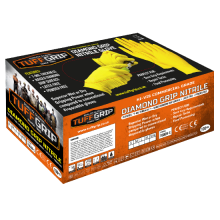 Tuff Grip Diamond Grip Nitrile Glove (100 Pack)