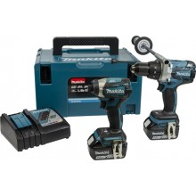 Makita Heavy Duty Brushless Twin Pack - 2x5ah