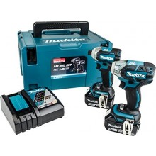 Makita DLX2211TJ Oil Pulse & Brushless Impact Drivers Set