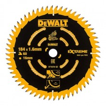 DeWalt Extreme Thin Kerf Cordless Saw Blade 184mm 60 Tooth