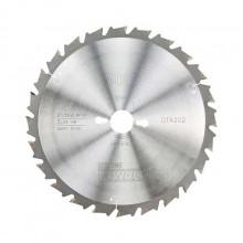 DeWalt TCT Circular Saw Blade 250x30mm 24t