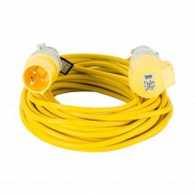 Defender 14m 2.5mm 16a Extension Lead 110v