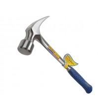 Estwing Straight Claw Framing Hammers - Vinyl Grip