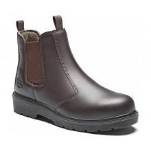 Dickies Contract Dealer Boots - Brown