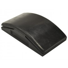 Faithfull Curved Rubber Sanding Block 125mm
