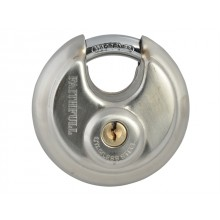 Faithfull Stainless Steel Disk Padlock