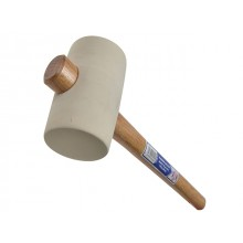 Faithfull Rubber Mallet - White 794g (28oz)