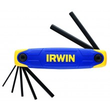 Irwin 7Pc Ball Ended Folding Hex Key Set