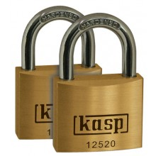C.K. Kasp 125 Premium Brass Padlocks - Keyed Alike Multipack