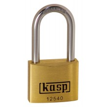 C.K. Kasp 125 Premium Brass Padlocks - Long Shackle